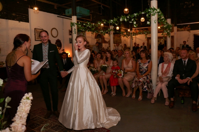 Stefanie Fetterman Ceremonies Alternative Weddings MDarlington Photography Hope Mill Theatre (5)