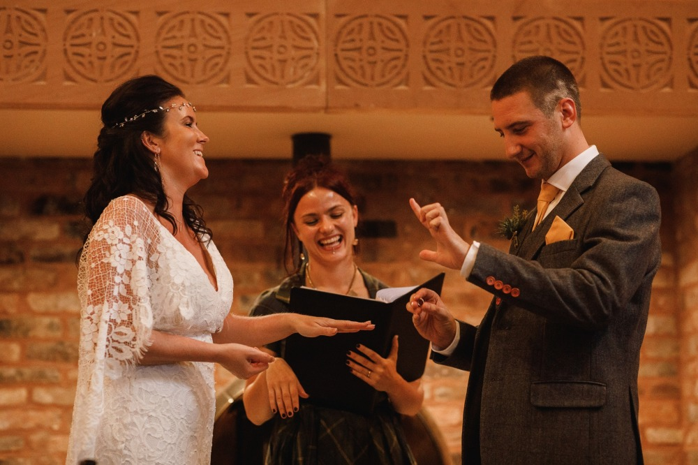 Stefanie Fetterman Humanist Wedding Ceremony