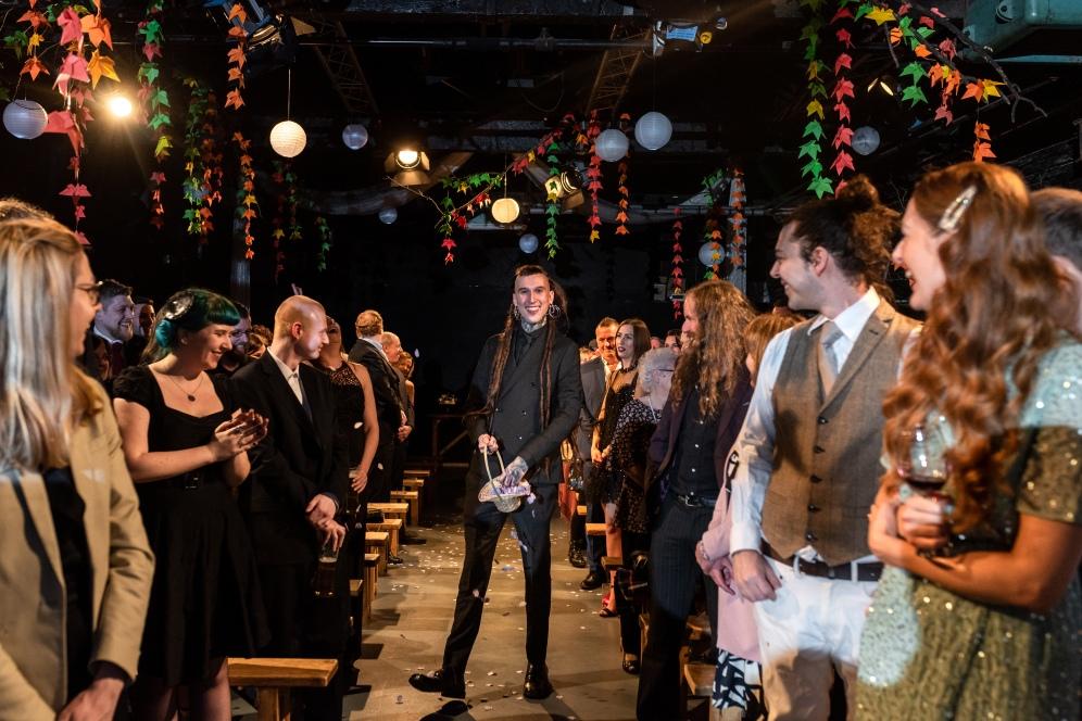 Stefanie Fetterman Humanist Ceremonies Hope Mill Theatre Stefan and Alex Alternative Weddings (14)
